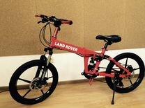 Велосипед на литых дисках. Арт: 62