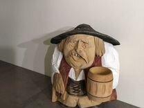Фигурка из дерева «Мужичок» — Мебель и интерьер в Москве
