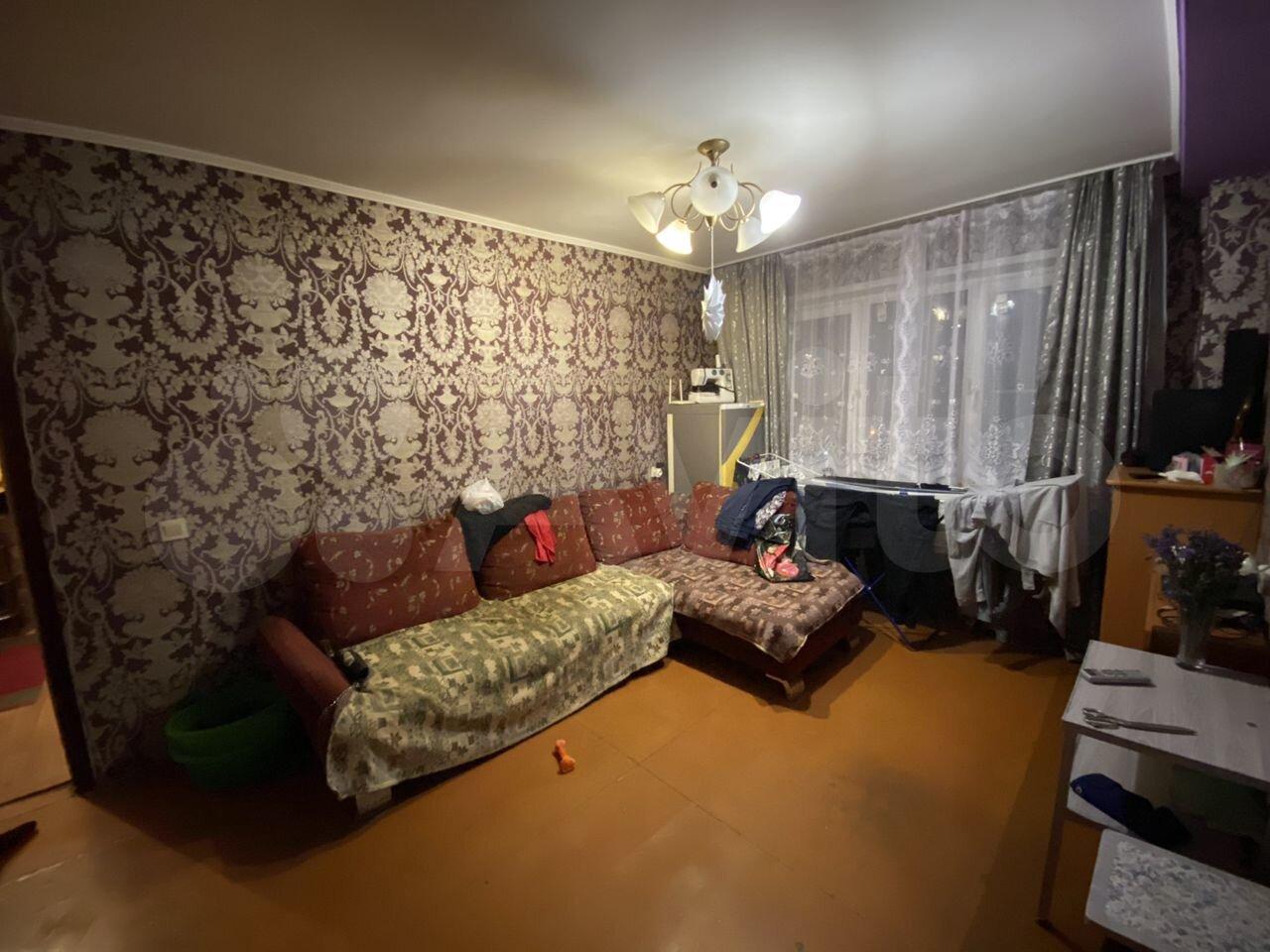 3-к квартира, 54.9 м², 6/9 эт. 89831698037 купить 2