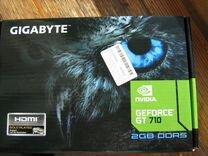 Новая видео карта GT 710 2GB DDR5