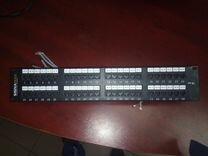 """Патч-панель 19"""", 48xRJ45, UTP, Кат. 5е Signamax"""