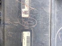 Накладка переднего бампера на Тойота лкрузер